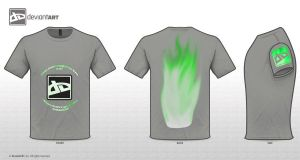 green flames on grey by SaRaH-lAyToN