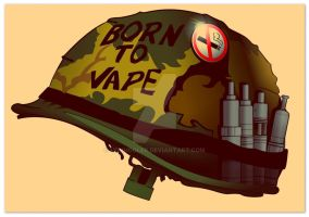 Born to Vape by VonHogler