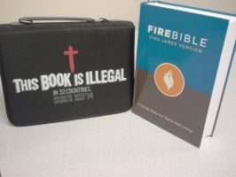 My Fire Bible - With Awesome Bible Case by 370wii