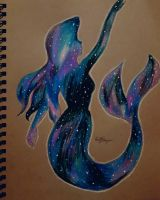 A Little Mermaid's Galaxy by pearlrange