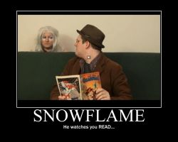 Snowflame Watches You READ... by NinjaHeart