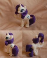Rarity needle felt by ChloeNArt