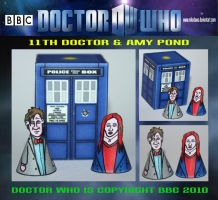 TARDIS 2010 - 2 by mikedaws