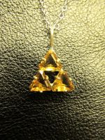Triforce Pendant by Flamegirl34568
