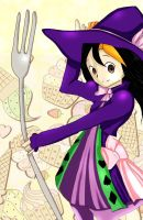 Request: Yumi dressed as Madolche Magileine by 4everSabi