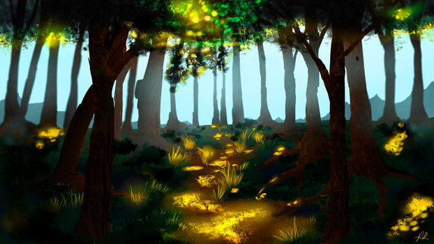 Sketch IV: Forest by Khrestos