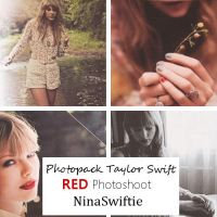 Photopack de Taylor Swift Red by NinaSwiftie