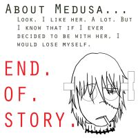 My So-Called Relationship With Medusa by AskDoctorStein