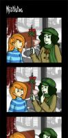 KP: Mistletoe Take 2 by Kaytropolist