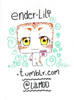 Lili the Ender-Chibi by LilliM00