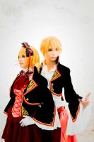 Sandplay Len and Rin by SilentCircus90
