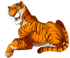 Everyone Run's From Shere Khan by MintyMaguire