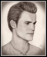 Paul Wesley by artistiq-me