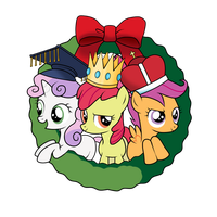Cutie Mark Crusaders Three Wise Kings by SouthParkTaoist