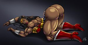 Patreon Reward: Gracyanne Barbosa as Wonder Woman by Osmar-Shotgun