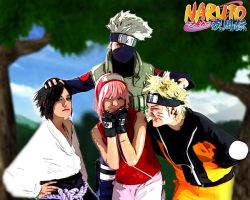 Team 7 shippuden by Suki-Cosplay