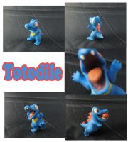 Weekly Sculpture: Totodile by ClayPita