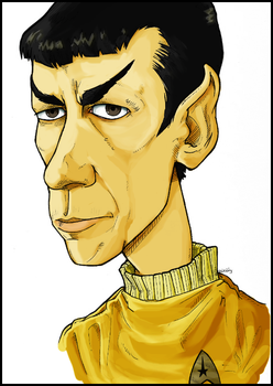 Mr Spock by WallyHindle