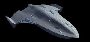 X70B Phantom WIP by Fractalsponge