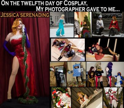 On the twelfth day of Cosplay... by Lossien