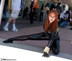 Comic Con Black Widow by Lady-Skywalker