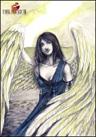 FFVIII - Angel Wing by Lowenael
