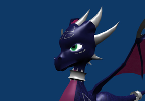 WIP CYNDER 3D model downloadable version by Wonderful-dragons