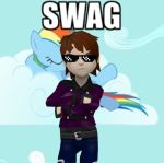 I got enough swag to make bitches feel jealous by elfmoon3