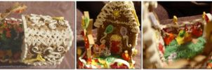 Quilling:Birthday Ginger Bread House1 by staceysmile