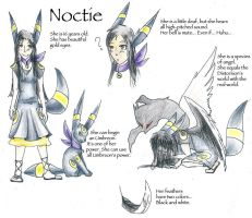 OC Noctie the PokeHuman by UmbreoNoctie
