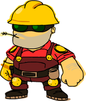 Team Fortress 2: Engineer by FranckyFox2468