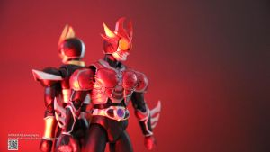 SHF Kamen Rider Agito Ground Burning Form by Digger318