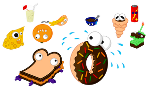 Noble Items: Scared Food by Lugbzurg