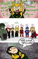 MARVEL: Loki's master plan by AppleCherry
