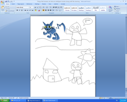 I drew this in Microsoft Word3 by Quacksquared