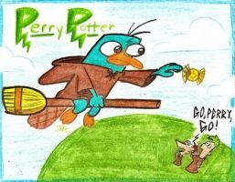 Perry Potter by Spectrumelf