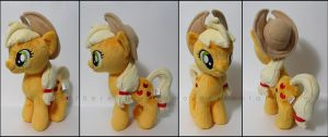 Plushie: Applejack - My Little Pony: FiM by Serenity-Sama