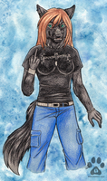 COMMISSION: Jacolf 1 by neon-possum