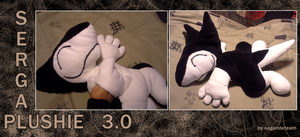 AUCTION!!! - Sergal Plushie by SagandeTeam