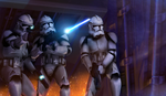 Clone trooper boarding party by LordofCombine