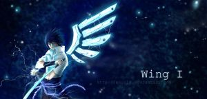 Wing I - Sasuke by Escria
