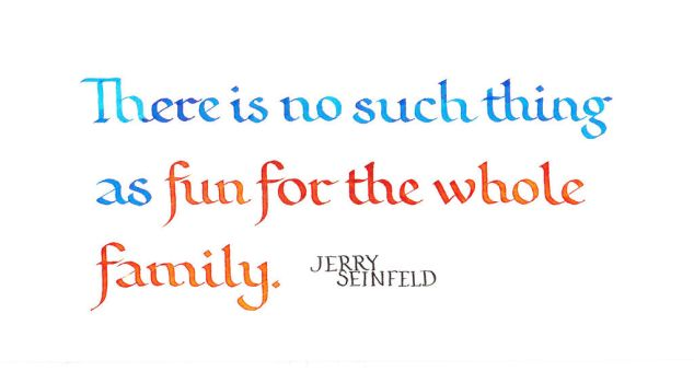 Jerry Seinfeld - Fun for the whole family by MShades