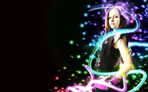 Avril Lavigne Wallpaper 2 by Golf-Punk