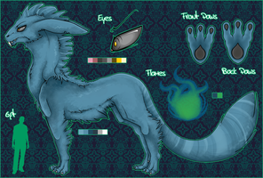 Morty ref sheet by Rueq
