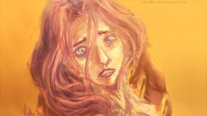 At Least with Sorrow by aumikre