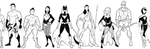 JLA by BevisMusson