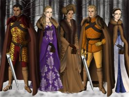 The royal family by pispispis