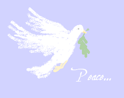 Dove of Peace by mouselady