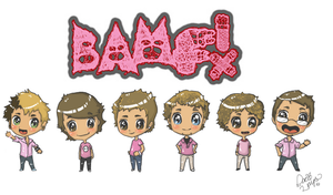 BAMF Chibis by oober-zombie