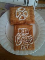 TF2 toaster strudel sentry by Paperguns